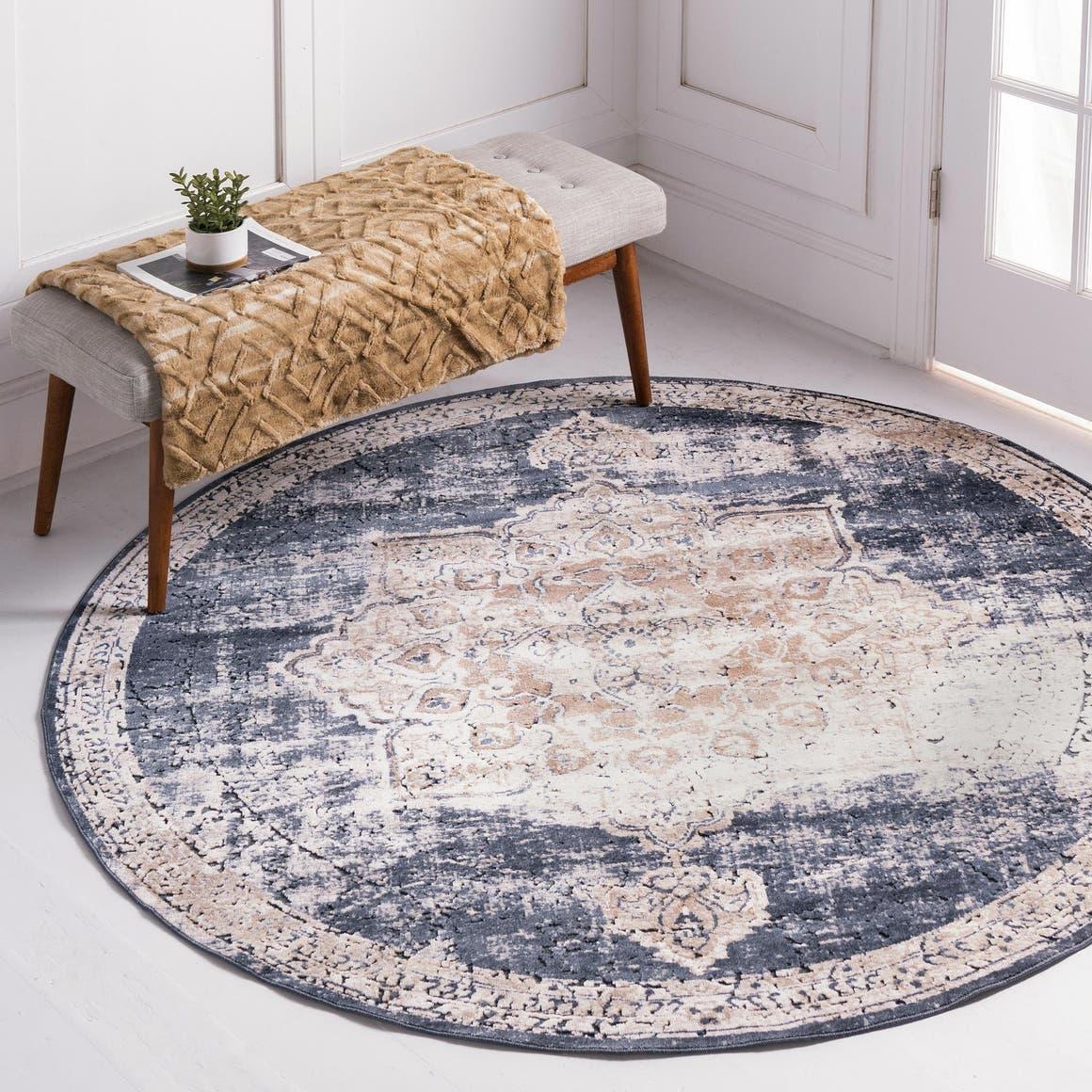 Round Rugs Gallery - rugdubai.com (Internal Page)